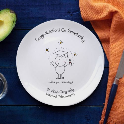 Chilli & Bubbles Graduation Plate